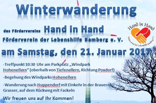Winterwanderung des Fördervereins