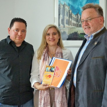 Nick Gallenz und Dieter Sauer im Gespräch mit Melanie Huml