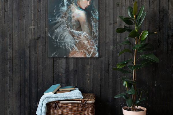 Beastly Beauties – Siren Premium Canvas Print