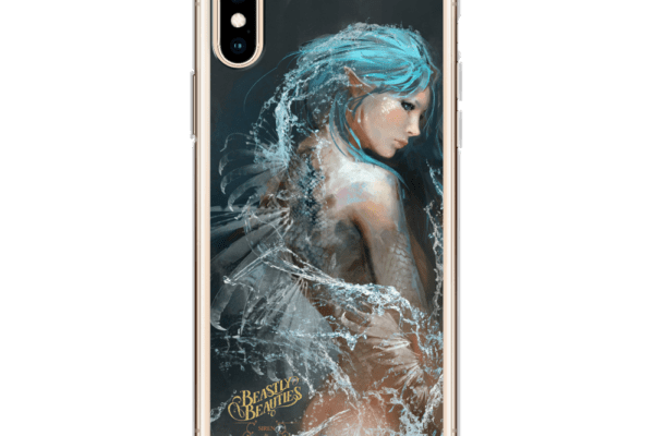 Beastly Beauties Siren iPhone Case