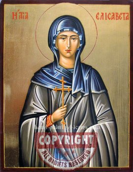 Saint Elizabeth-hand-painted-icon