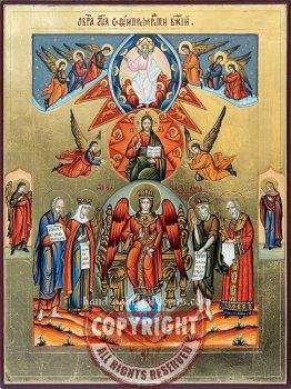 Sofia-Wisdom of God-hand-painted-icon
