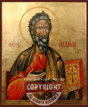Saint Apostle Andrew-hand-painted-icon-v3