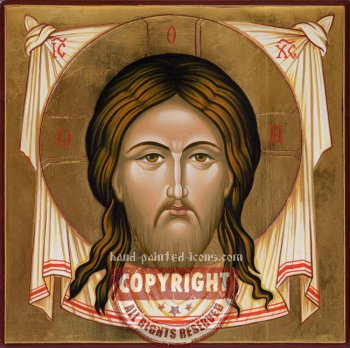 Christ-Mandylion-Ubrus-hand-painted-icon
