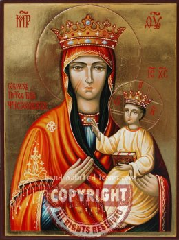 Our Lady of Chenstochowa-hand-painted-icon