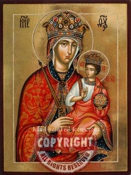 The Holy Virgin-Galatskaya-hand-painted icon
