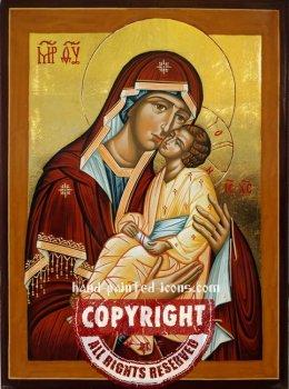 The Holy Virgin-Mati Molebnitsa-hand-painted-icon