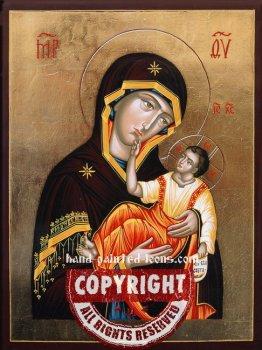 The Holy Virgin of Muromsk-Muromskaya-hand-painted-icon