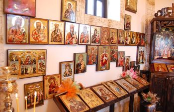 Orthodox icons for a private chapel