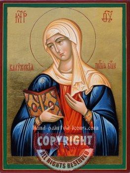 Mother of God-Kaluzhskaya-hand-painted-icon