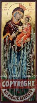 Panagia Myrtidiotissa-hand-painted-icon-28x10-v2