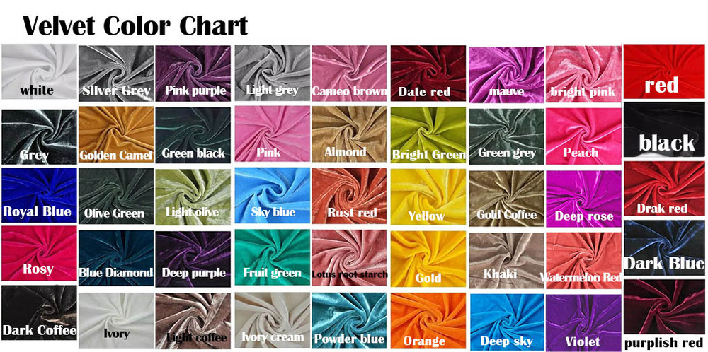 Textile Color Chart Of Silk Linen Satin Ribbon Hemp  Cotton From Thailand