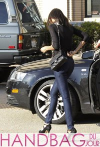 Zoe Saldana shops with Chanel - Handbag du Jour | Handbag ...