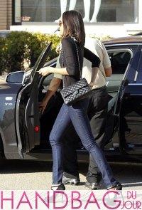 Zoe Saldana shops with Chanel