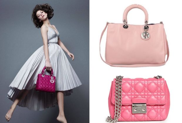 Dior Pink Handbags