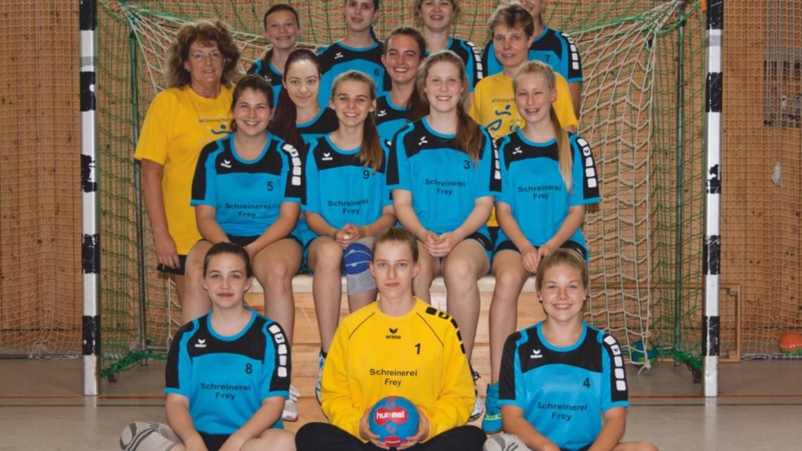 Weibliche B-Jugend startet mit einem 20:15 Sieg in Moosburg