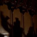 Shadows created by Sonos Handbell Ensemble performing Bach's Toccata and Fugue