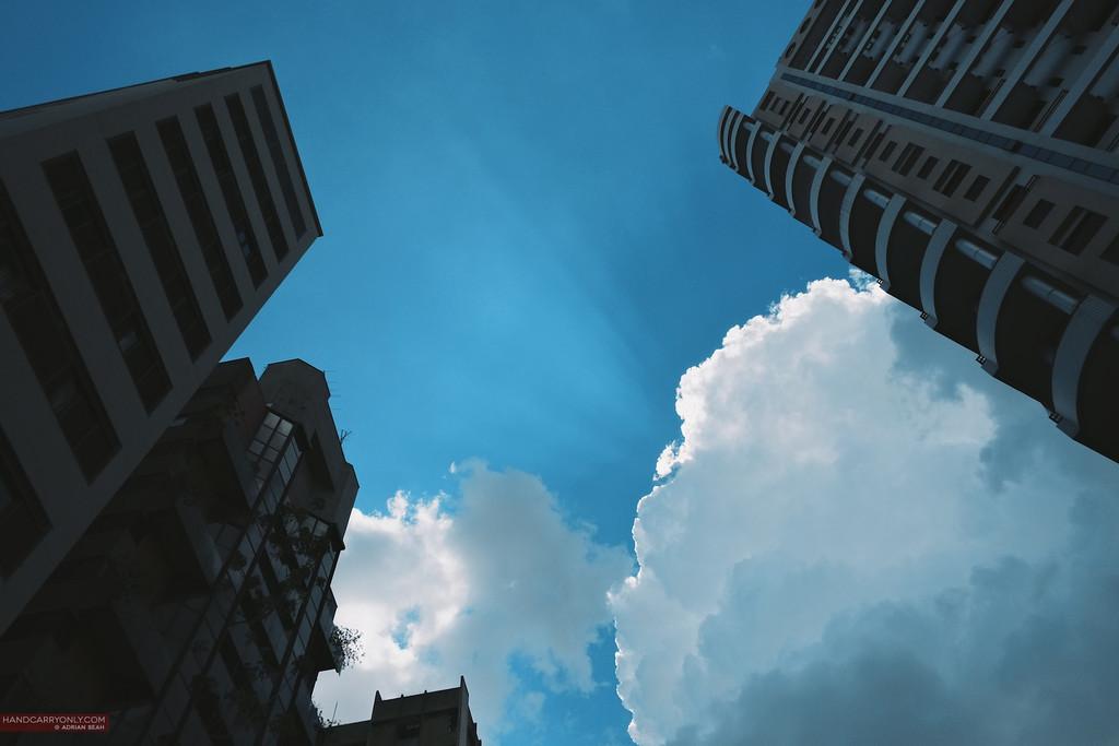 urban texture sky sao paulo