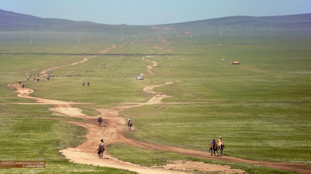 Mongolia Naadam Horse Racing
