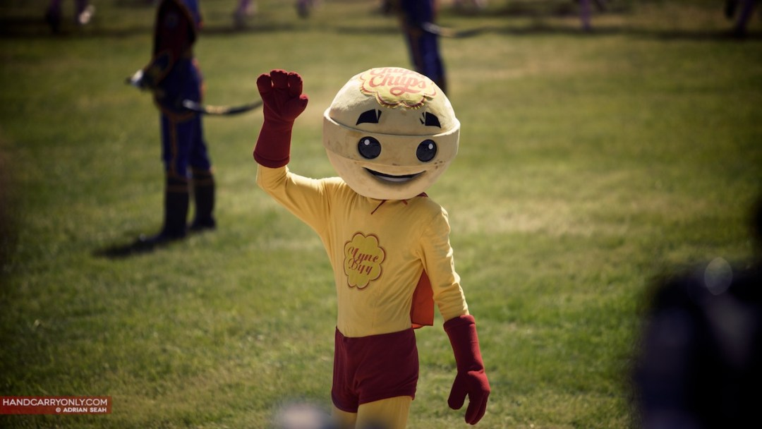 Mongolia Naadam corporate mascot