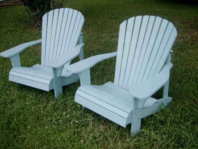 chair with light indoor swing for bedroom handcrafted adirondack chairs blue big boy