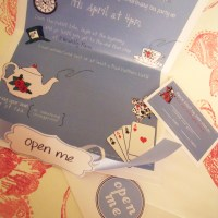 Mad Hatters Tea Party Invites...