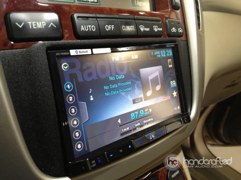 2008 Tundra Wiring Diagram 2006 Toyota Highlander Hybrid Gets A New Pioneer Double