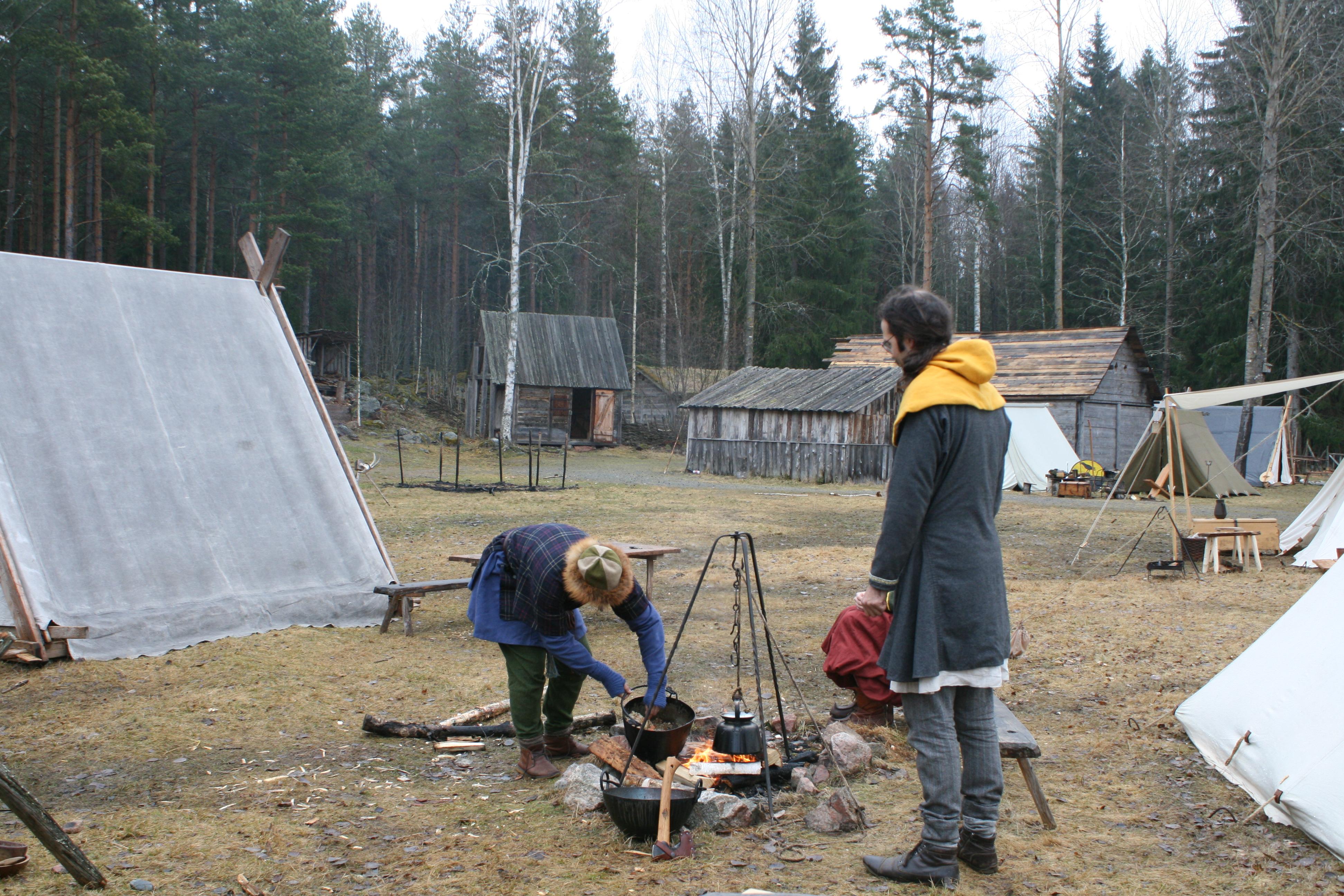 Vikings at Årsunda | HANDCRAFTED HISTORY