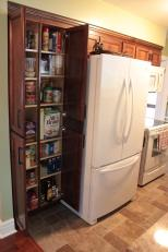 Adjustable 4 section pantry
