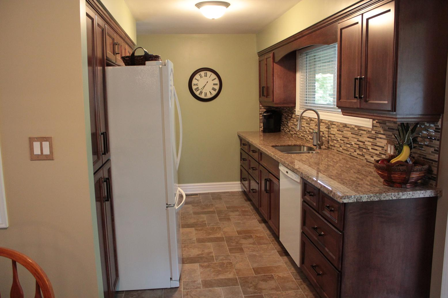 Red Mahogany Kitchen Over 25 Years Of Custom Cabinets