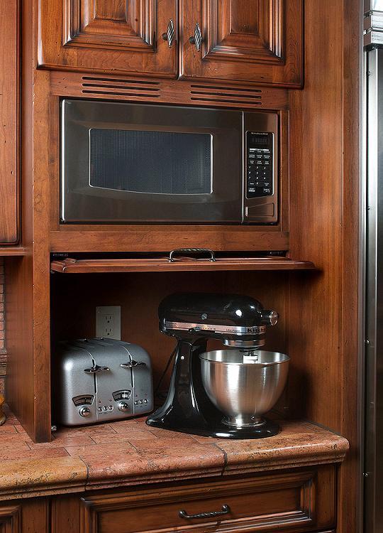 Microwaves  Over 25 Years of Custom Cabinets