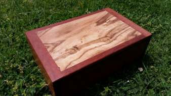Reclaimed Redgum box featuring rare rain forest timber
