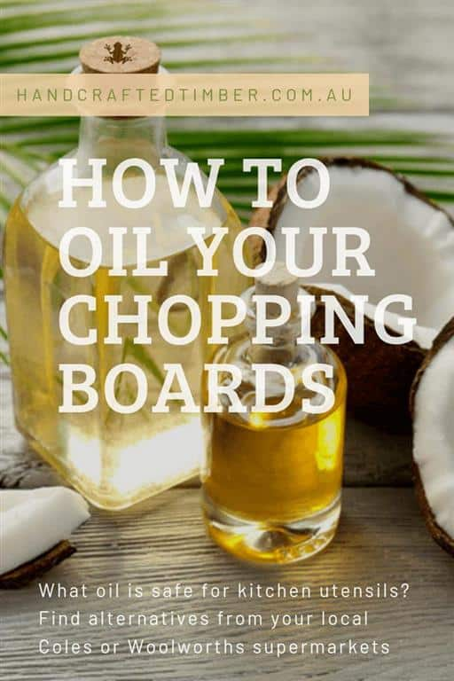 Chopping Board Oil Instructions