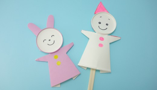 紙コップ1つで簡単&かわいいパペット人形の作り方