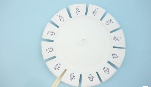 【紙皿で簡単!】アニメの原点「ゾートロープ盤」の作り方