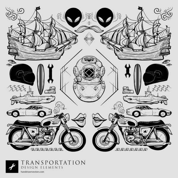 Transportation-Collection-Vector