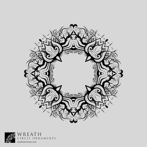 Forest-Wreath-Vector