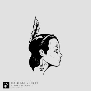 indian girl vector