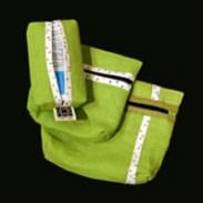 Olika modeller av fodral i textil