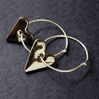 Hjärtliga örhängen