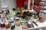 Massor med lokalproducerade produkter