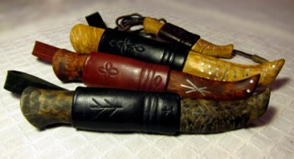 Handgjorda slidknivar