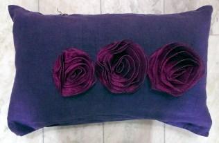 Kudde med rosor