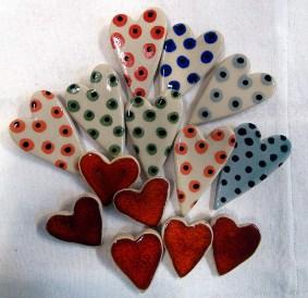Hjärtan i flock