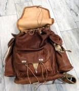 Skinnryggsäck, framsida
