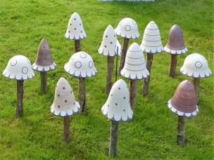 Trädgårdsprydnader