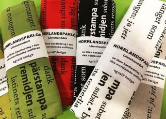 Norrlandsparlör handduk