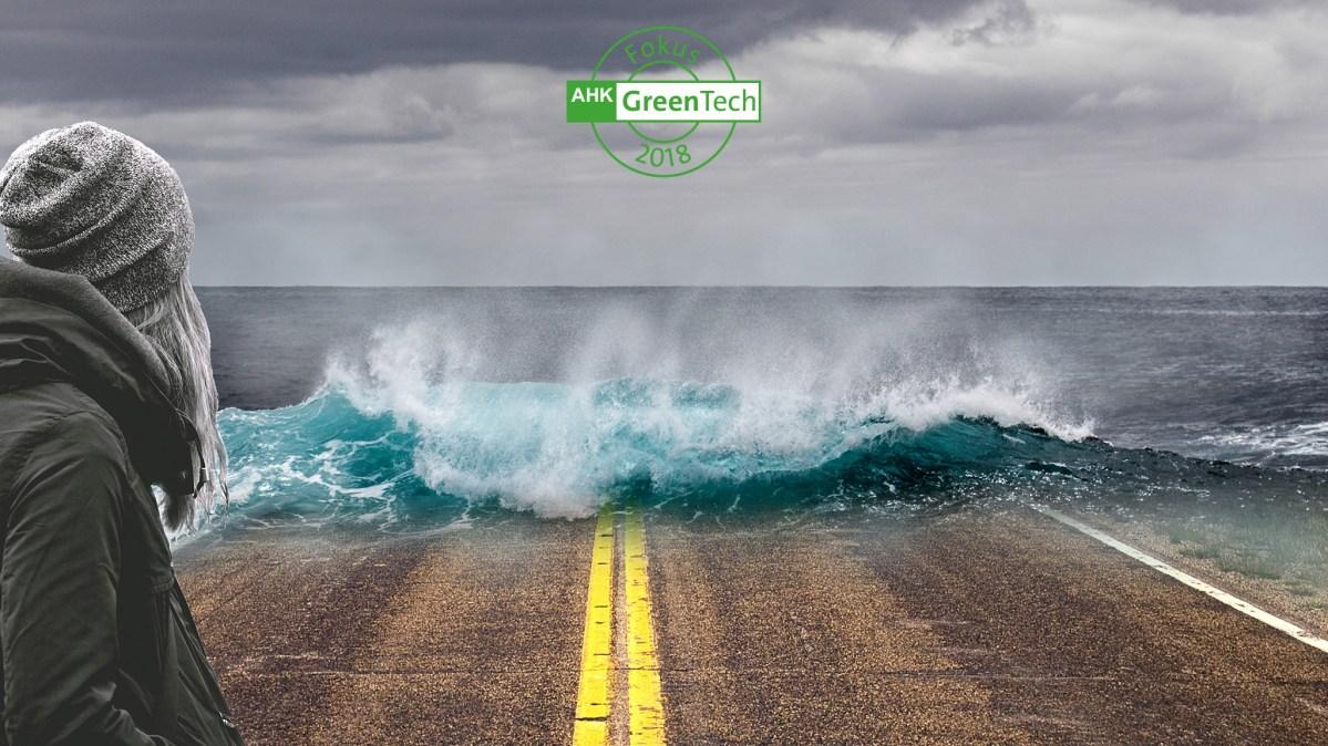 GreenTech-Frühstückstreffen: Klimarisiken