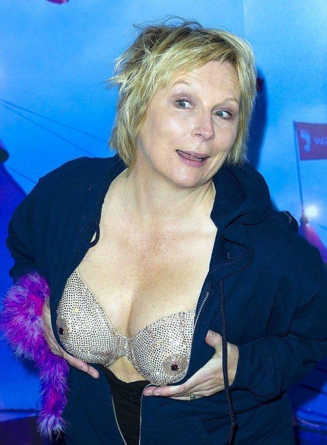 Breast cancer awareness Crystal bra  Hand  Lock