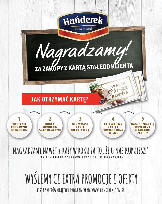 Karta Lojalnościowa ZPM Hańderek
